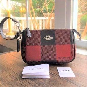 🌺ONE LEFT!🌺 COACH Plaid Mini Bag / Clutch!